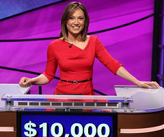 Ginger Zee Wins $10,000 for Susan G. Komen, West Michigan Office, in Second-Place Celebrity 'JEOPARDY!' Finish