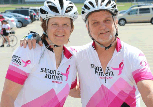 Susan G. Komen® Michigan Hosts their 7TH Annual Ride for the Cure®